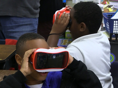 Third Graders take virtual field trip to Statue of Liberty