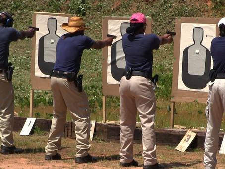 Meridian police recruits go through intense training