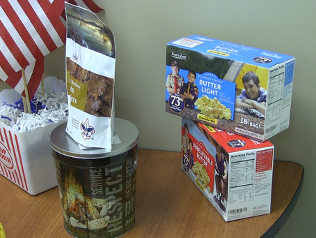Local Boy Scouts start popcorn fundraiser