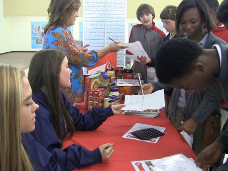 Reality Fair teaches eight graders how to budget money