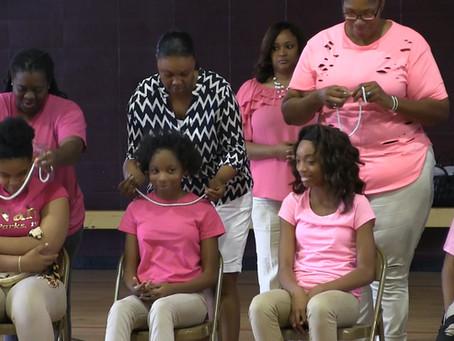 Mentoring program teaches girls how to be ladies