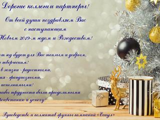 С наступающим Новым 2019-м годом!