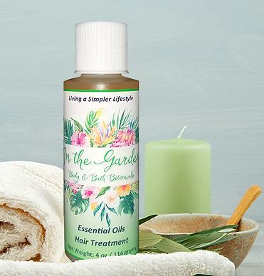 Essential Oils Hair Treatment