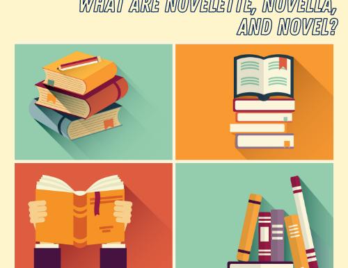 What are Novelette, Novella, and Novel?