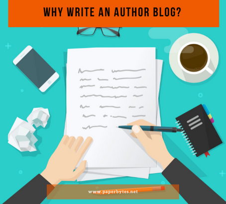 Why Write An Author Blog?