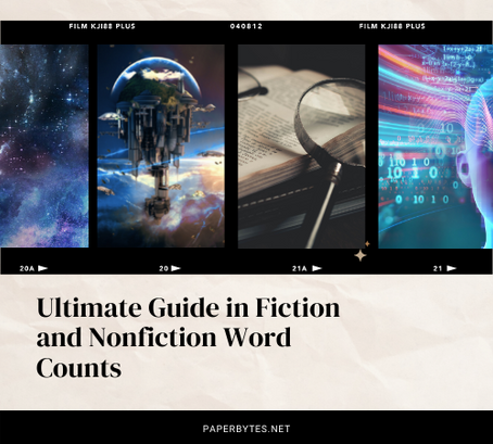 Ultimate Guide in Fiction and Nonfiction Word Counts