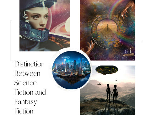 Distinction Between Science Fiction and Fantasy Fiction
