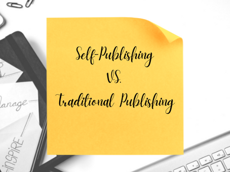 Self-Publishing VS. Traditional Publishing: Which is Better?