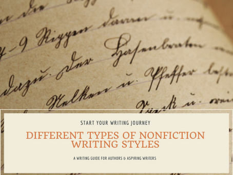 Different Types of Nonfiction Writing Styles