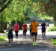 Corporate Run Fitness Team Building