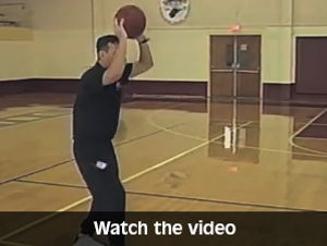 coach white teaching basketball basics