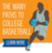 many paths to college basketball button