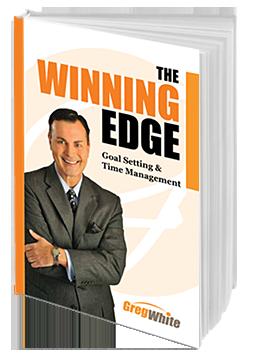 Greg White: the winning edge goal setting & time management