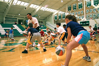 coach greg white teaching dribbling exercises