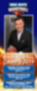 Greg White Basketball camp brochure