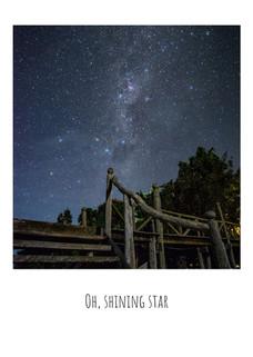 Oh, shining star