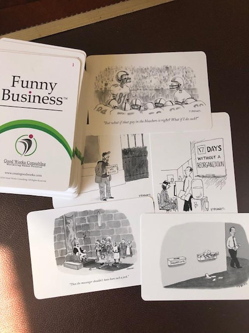 Funny Business Physical Card Deck