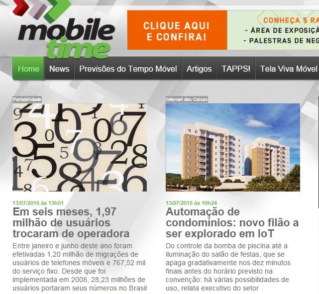Portal Mobile Time 4