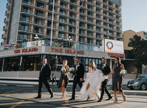 The Island Gold Coast Wedding Photo