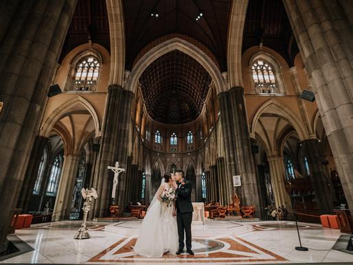 St Patricks & Hawthorn Arts Centre Wedding