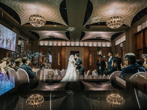 Crown Melbourne Wedding Photo