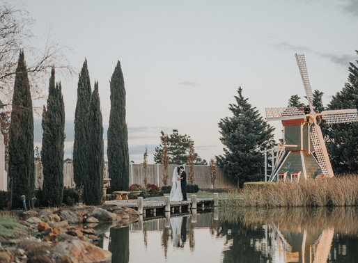 Windmill Gardens Wedding Photo