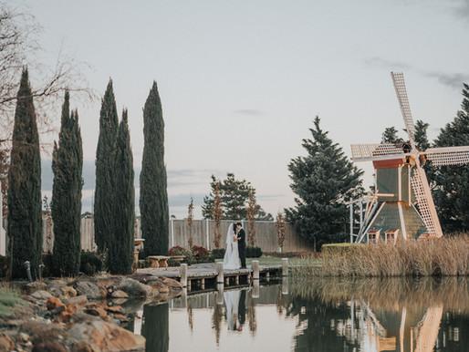 Windmill Gardens Wedding Photo