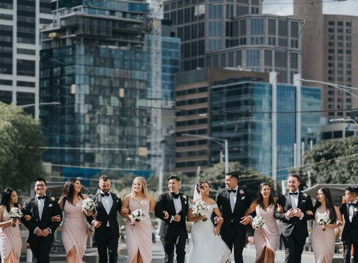 Promenade x Aviary at Crown Melbourne Wedding Photo