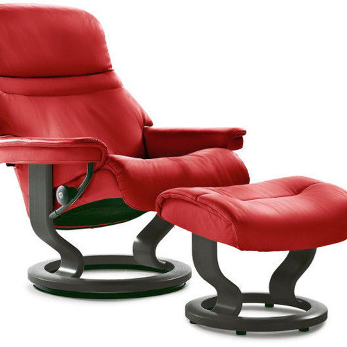 Stressless Sunrise Recliner With Classic Base ...