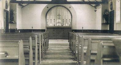 Interior of the Church of St Philomena.j