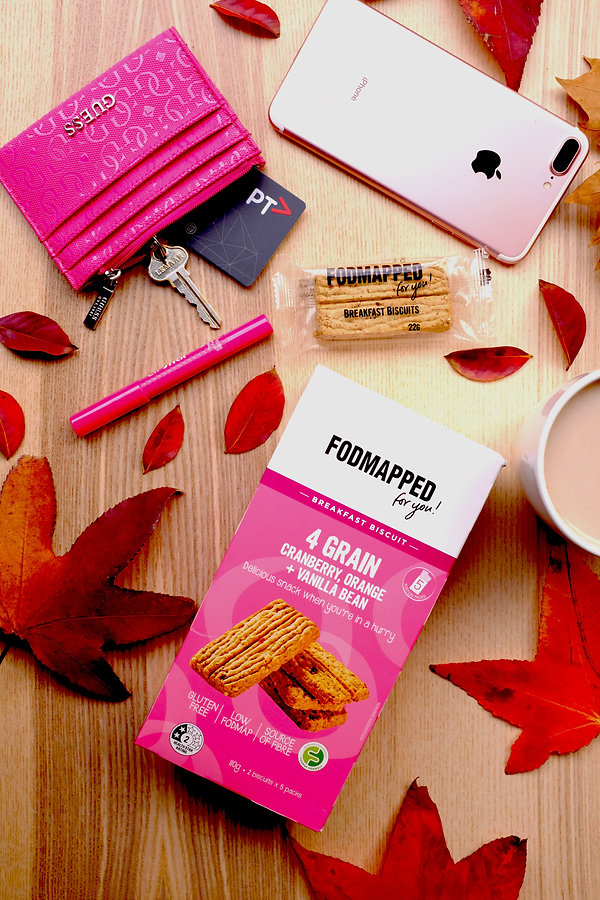 """Product review: """"FODMAPPED for you"""" Low FODMAP Breakfast Biscuits"""