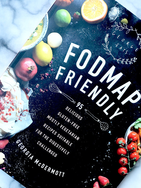Book review FODMAP Friendly Georgia McDermott The FODMAP Talk