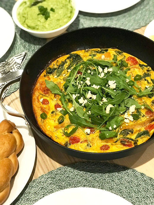 Low FODMAP Frittata, the fodmap talk, low fodmap diet,