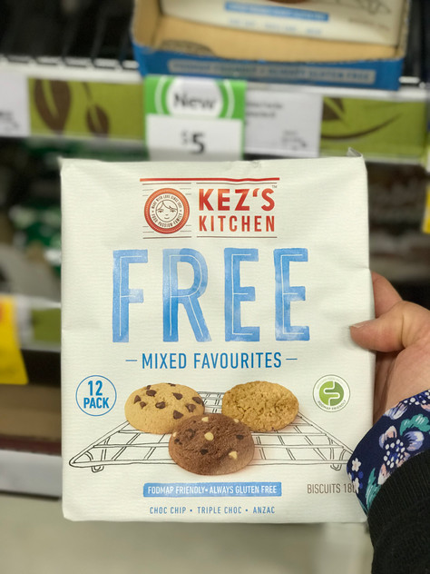 "Low FODMAP New Launch: Kez's Kitchen ""Free Mixed Favourites"""