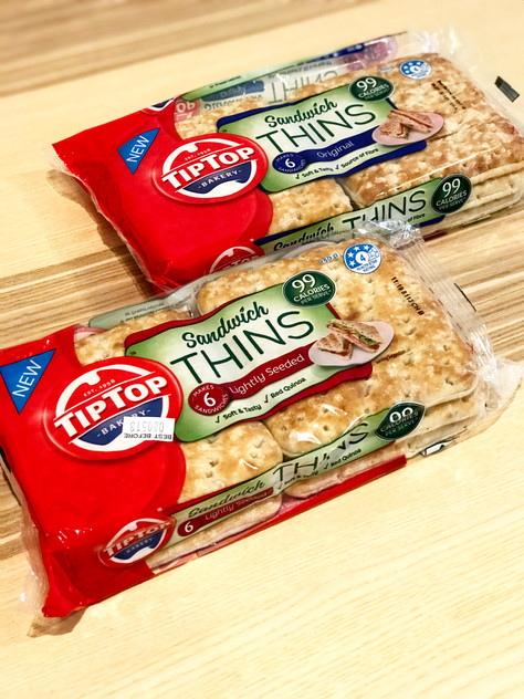 Low FODMAP New Launch: Tip Top Sandwich Thins