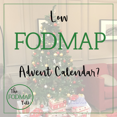 Low FODMAP advent calendar?