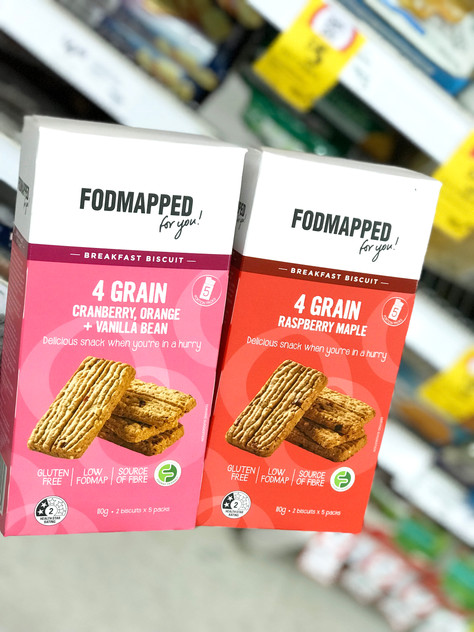 "Low FODMAP New Launch: ""FODMAPPED FOR YOU"" Breakfast Biscuit"