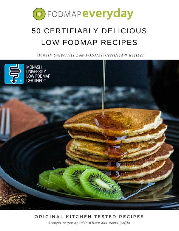 The FODMAP Talk FODMAP Everyday ebook Monash University recipes