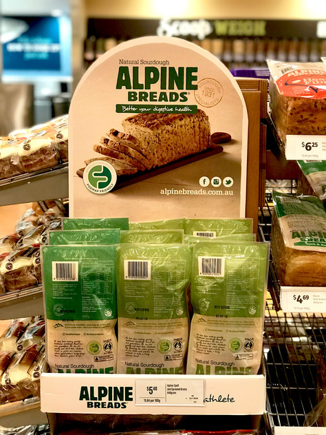 Alpine Breads presentation is super Low FODMAP