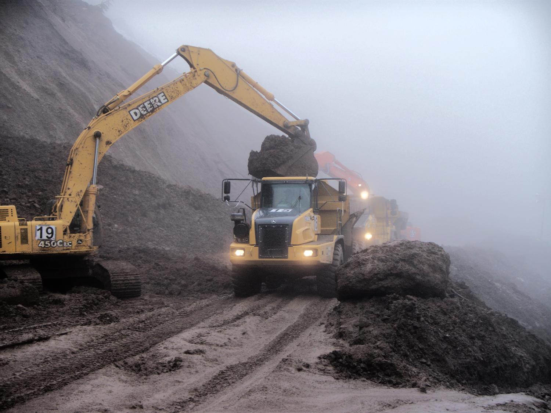 Union Pacific - Frazier Landslide
