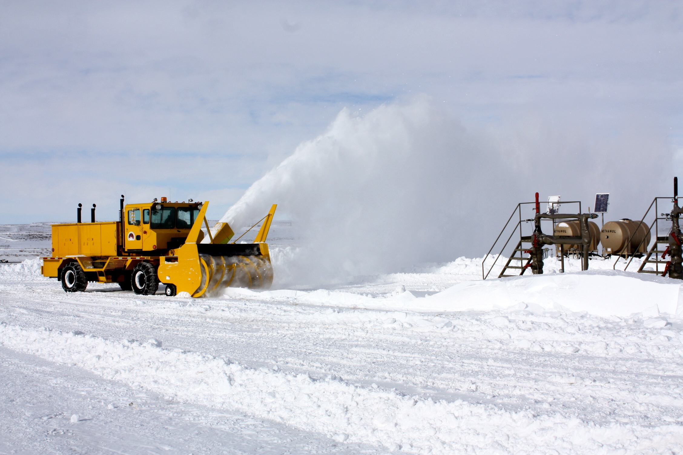 Anadarko Petroleum - Snow Removal