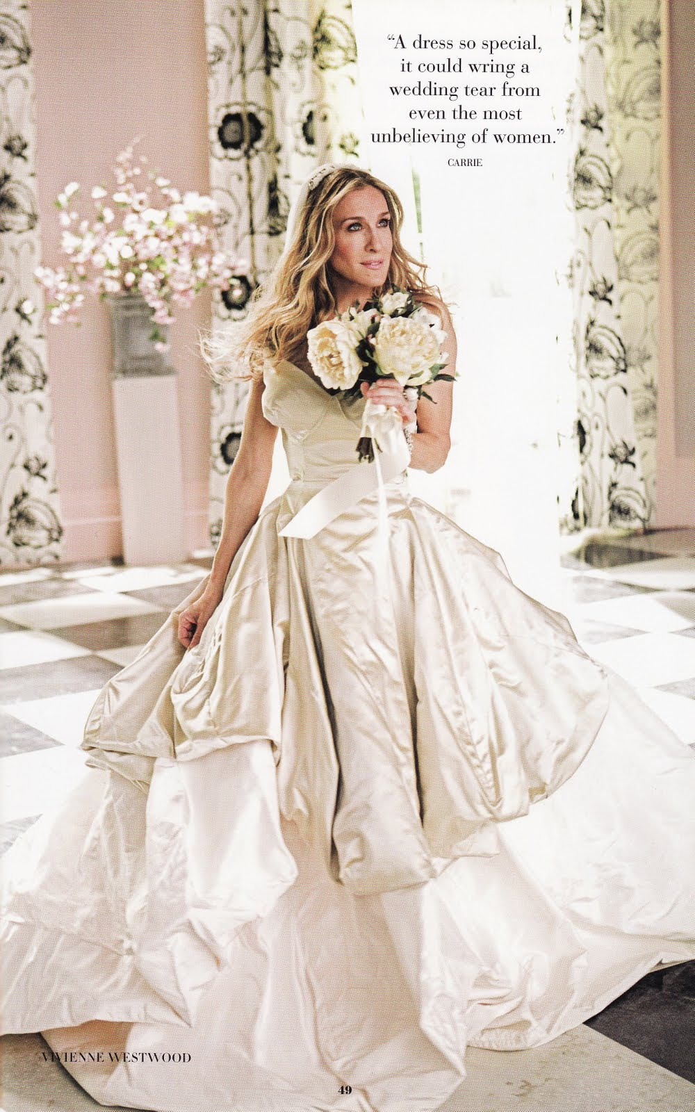 Best Wedding Dresses from TV and Film | Designer Weddings Decor and ...