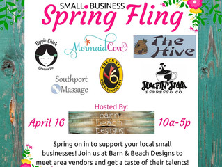 Small Business Spring Fling Event