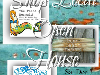 Shop Local Open House Dec 3, 9am-6pm