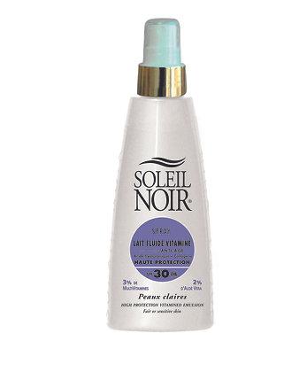 Spray fluide anti âge Soleil Noir 150 ml IP 30
