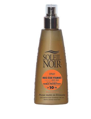 Huile sèche Soleil Noir 150ml IP 10