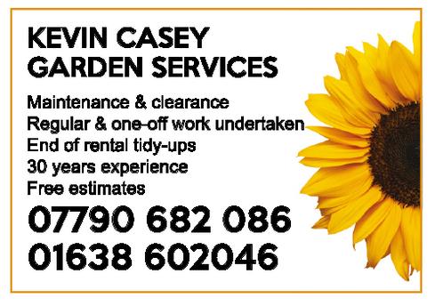 Kevin Casey Gardening