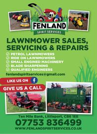 Fenland Spirit Lawnmowers