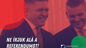 ELHATÁROLÓDUNK FICO VISSZATÉRÉSI KÍSÉRLETÉTŐL