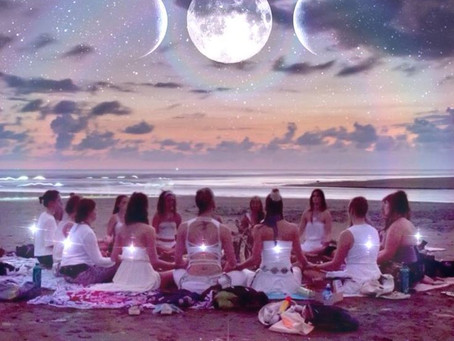 Hot Ormes Clay & Yoga Full Moon Release Ceremony